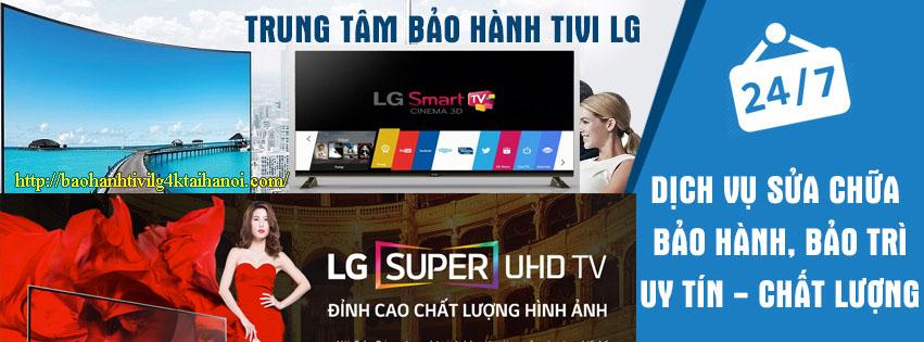trung tâm bảo hành tivi LG