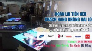 Sửa Tivi Tại Hà Đông